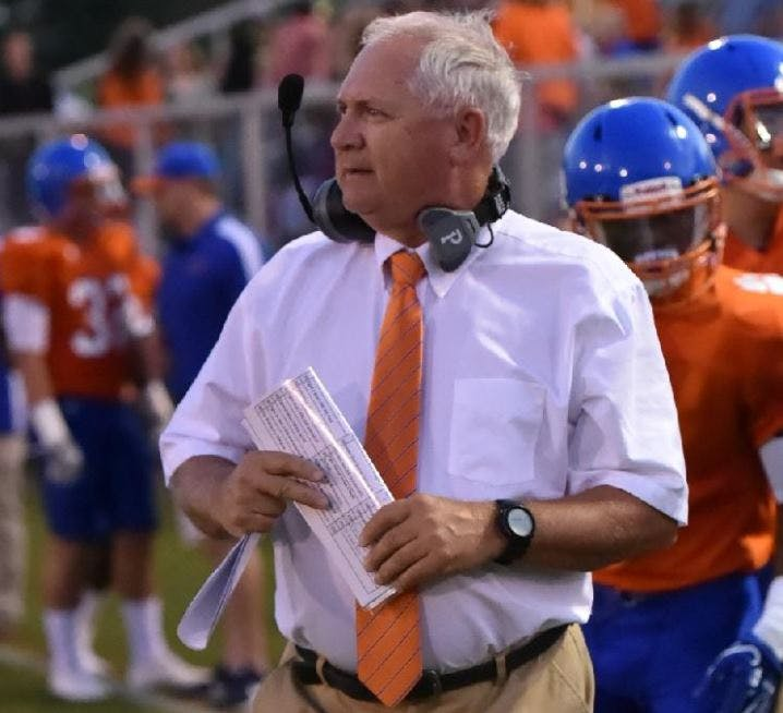 Delmar coach and former Athletic Director David Hearn
