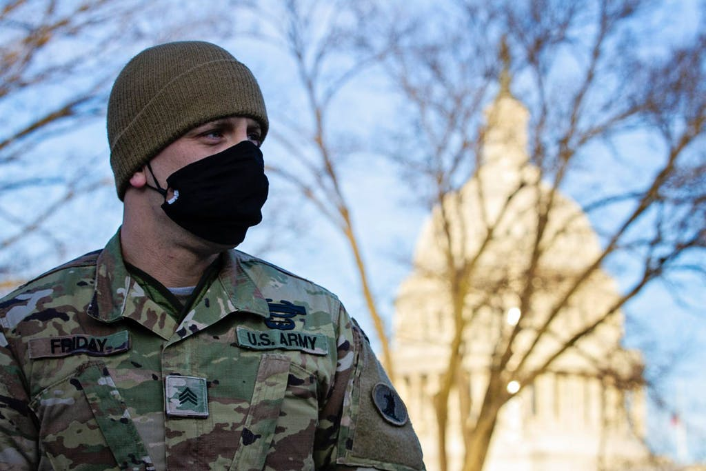 More than 200 members of the Delaware National Guard are serving in Washington, D.C. right now
