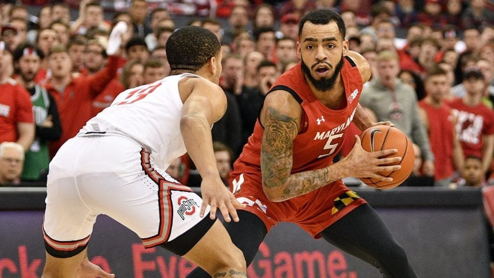Wilmiington native Eric Ayala is excelling as a guard for the Maryland Terrapins.