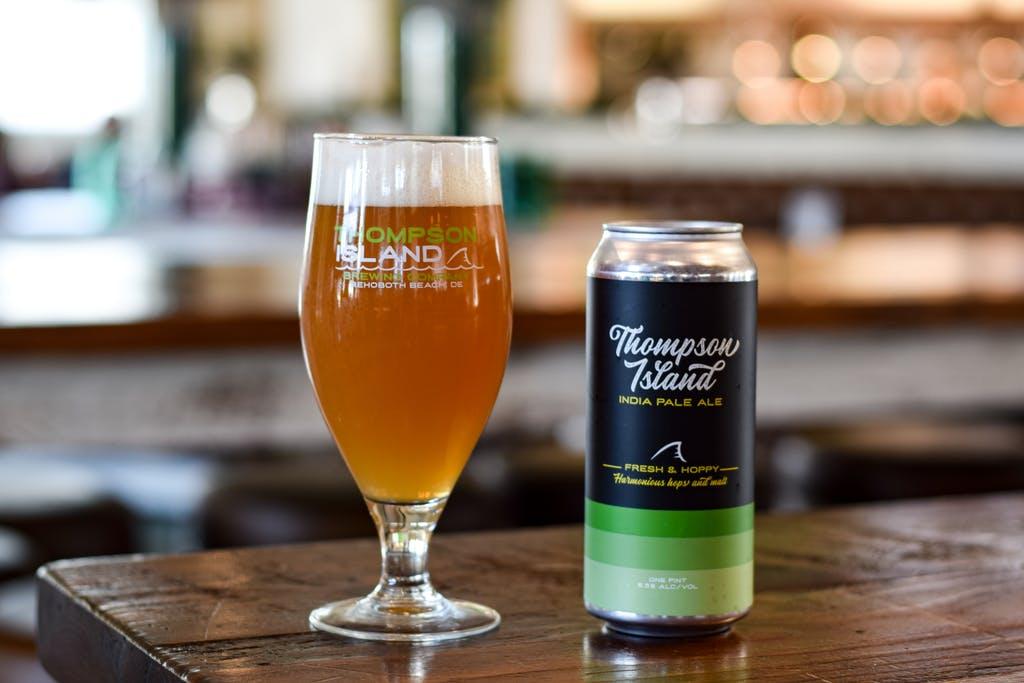 Thompson Island Brewing Co.'s flagship IPA