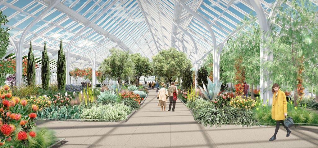 Longwood Gardens' reimagined West Conservatory. (Longwood Gardens)