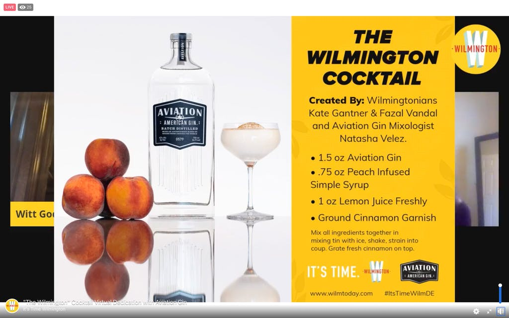The recipe for The Wilmington cocktail