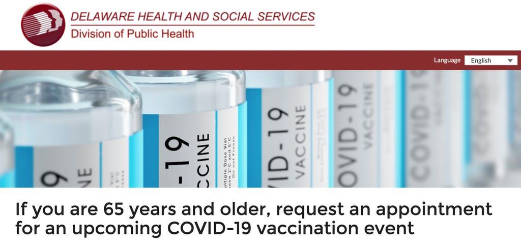 Vaccination registration