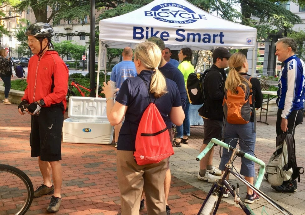 Bike to Work Day in 2019. (City of Wilmington)