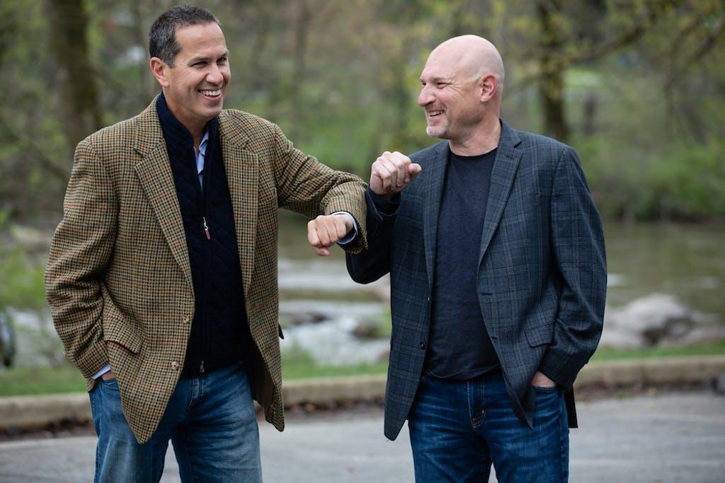 Green Street USA co-founders Joel E. Fishman (left) and Alan B. Horowitz. (Karen Gowen photo)