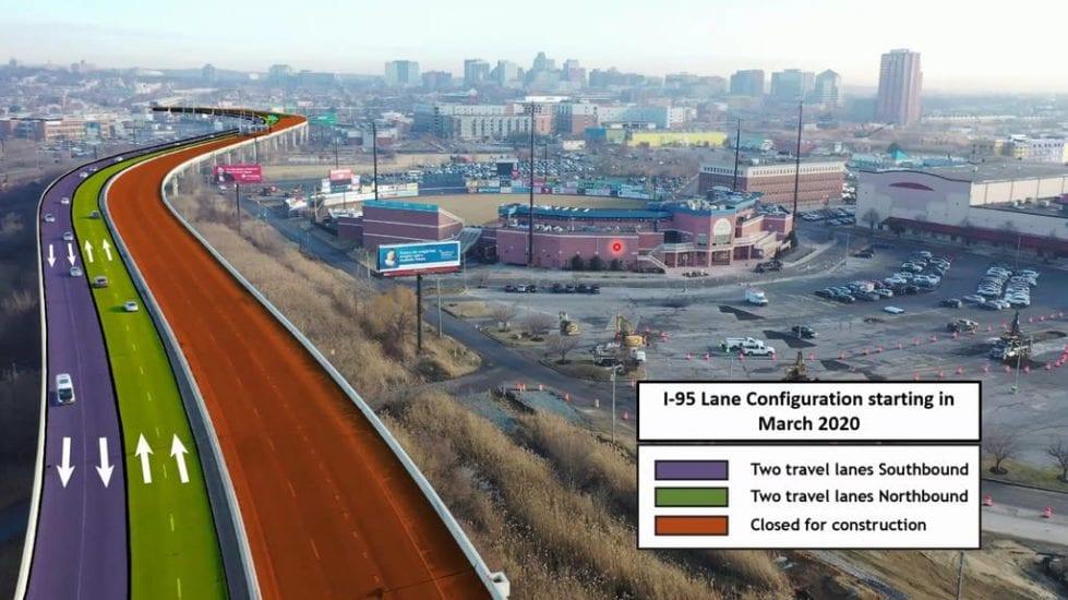 How Restore the Corridor will start.(DelDOT image)