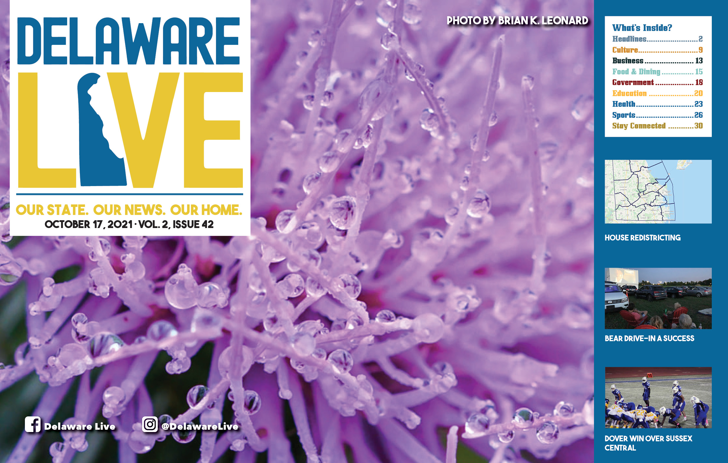 """Featured image for """"Delaware LIVE Weekly Review – October 17, 2021"""""""