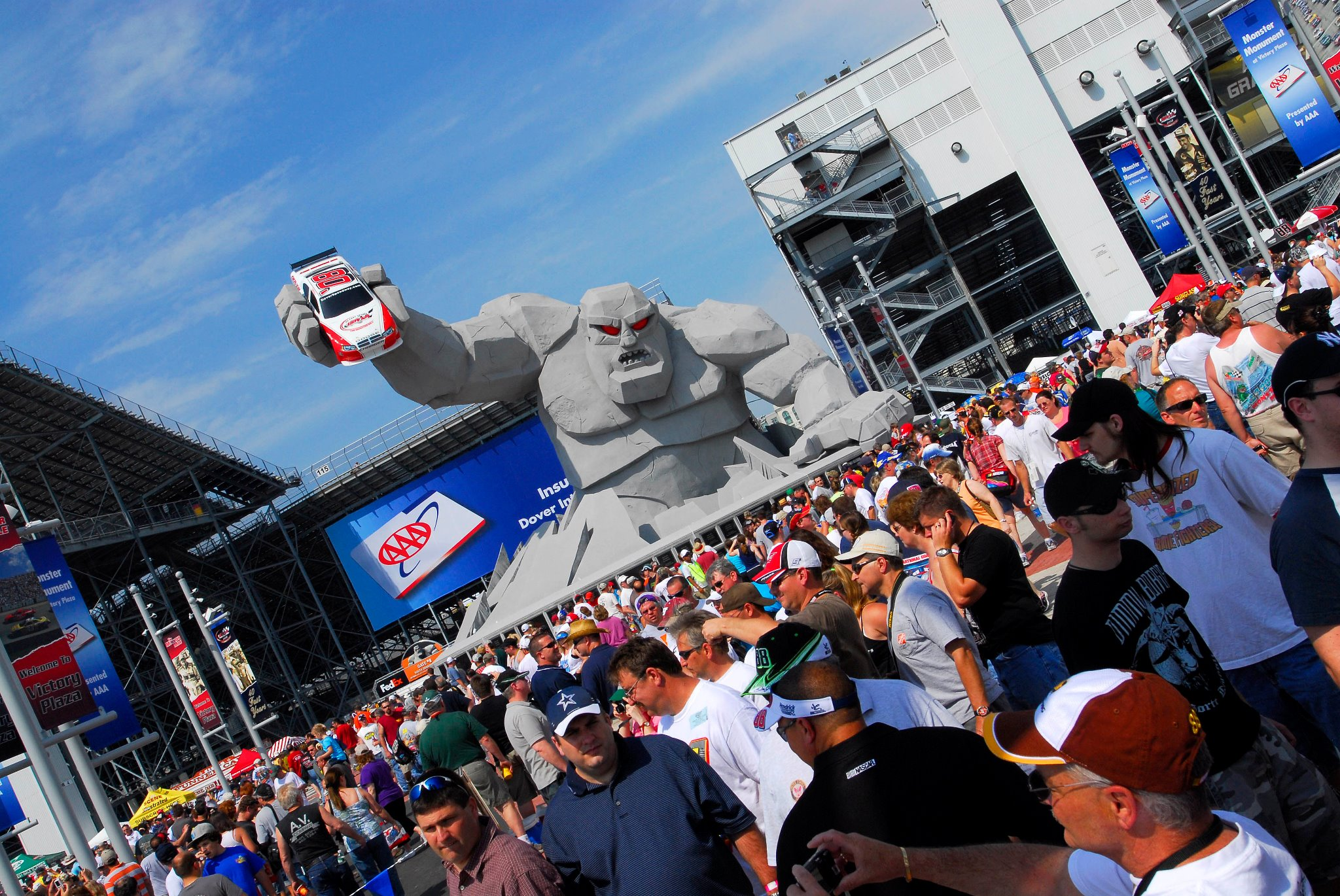 """Featured image for """"Want to drive Monster Mile? Get a vaccine there Oct. 16-17"""""""